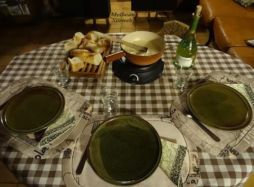 La fondue Suisse
