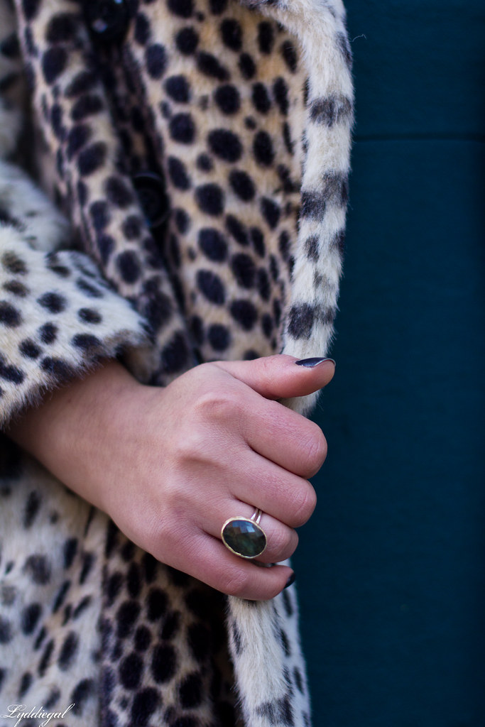 green dress, leopard fur coat, silver pumps, holiday style-11.jpg