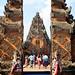 Bali 2015, Pura Puseh Temple Batuan, temple entrance WM