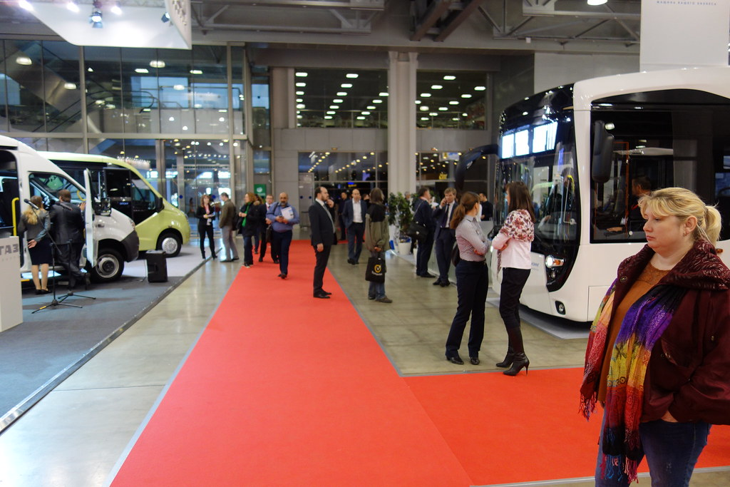 Opening ceremony and VIP tour @ Busworld Russia