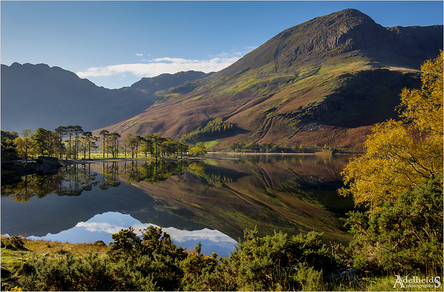Buttermere reflections, England (explored)
