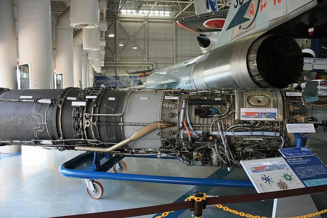 F-104J戦闘機  エンジン IMG_2716_2