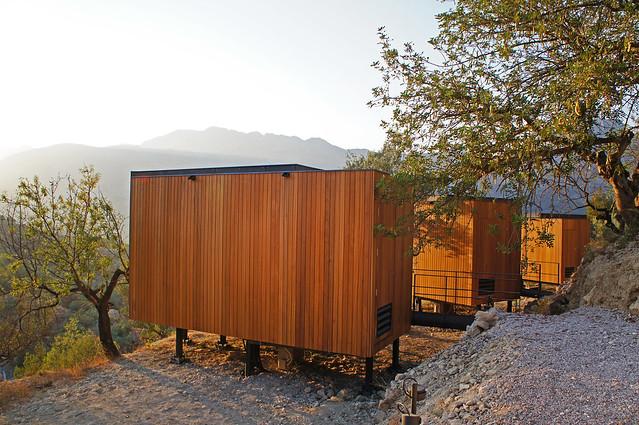 Habitaciones del Vivood Landscape Hotel (Valle de Guadalest, Alicante)
