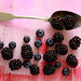 blueberries and blackberries by C.Mariani