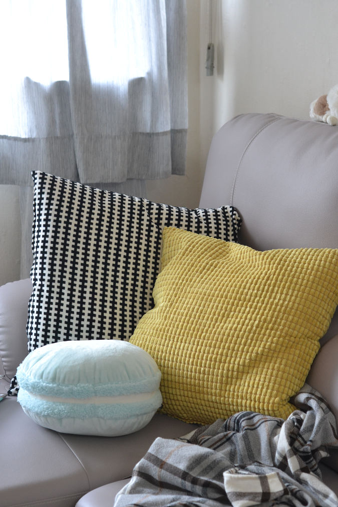 Daisybutter - Hong Kong Lifestyle and Fashion Blog: interior design, styling mustard in a living room