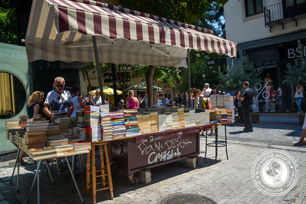 Monastiraki Market Athens Greece