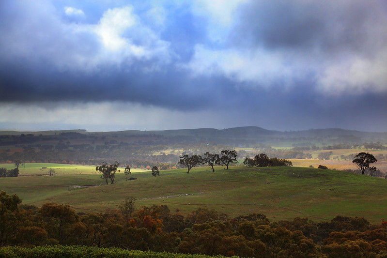 Storm over Clare Valley