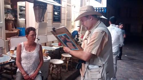 Paris Montmartre artists Aug 15 5