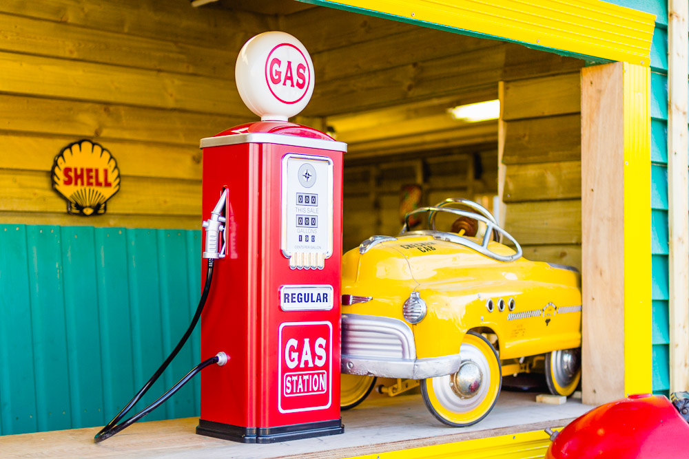 margate dreamland childrens toy car pump station