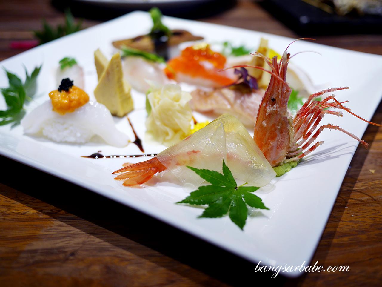 Manmaru Nigiri Sushi Moriawase