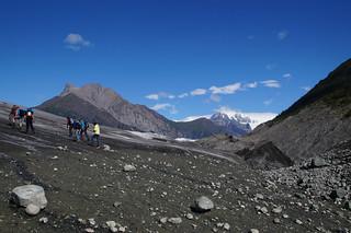 043 Op de gletsjer