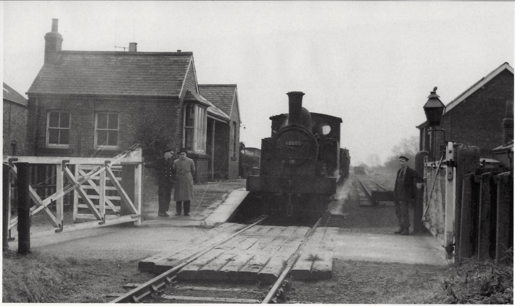 Cawood, Selby & Wistow Light Railway. 1960.