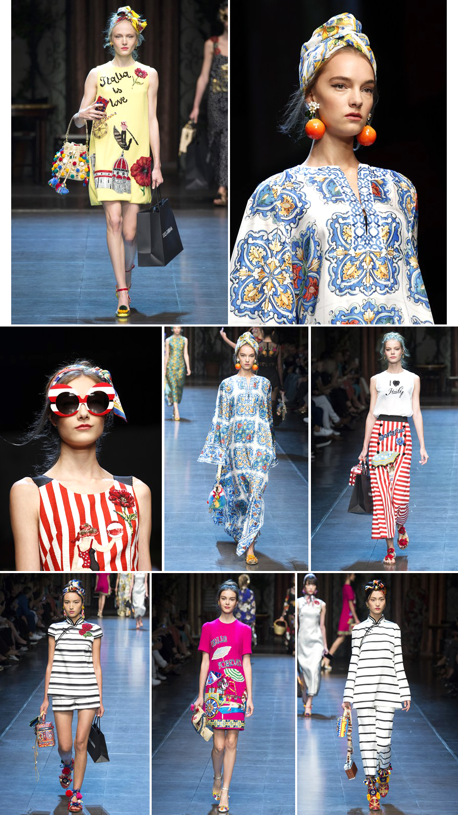 Dolce Gabbana Spring Summer 2016 Collection