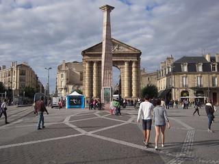 صورة Porte d'Aquitaine. frankreich france sudouest aquitaine 33 gironde bordeaux guyenne porte place colonne journéesdupatrimoine