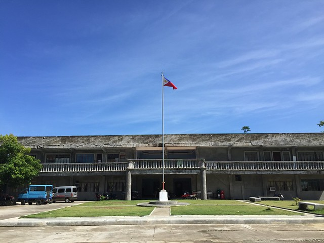 The newly-rehabilitated Villaba Municipal Hall - July 2015