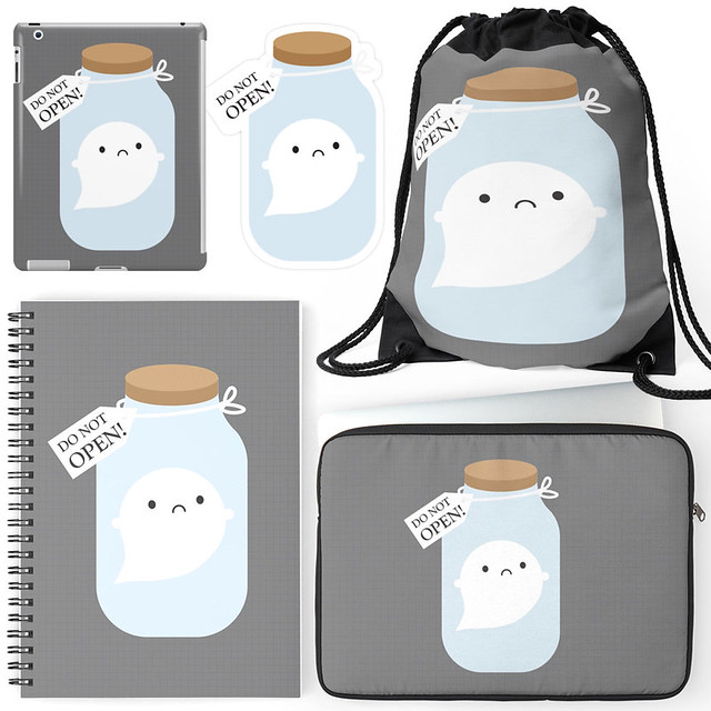 Trapped Ghost at Redbubble