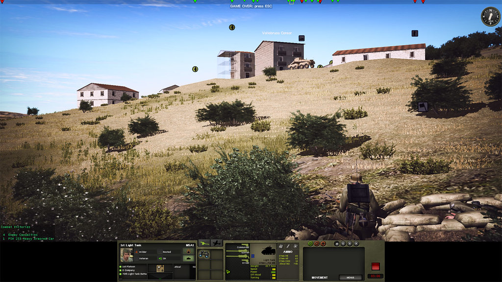 9_Combat_Mission_Fortress_Italy_War_Movie_ADVANCED_mode