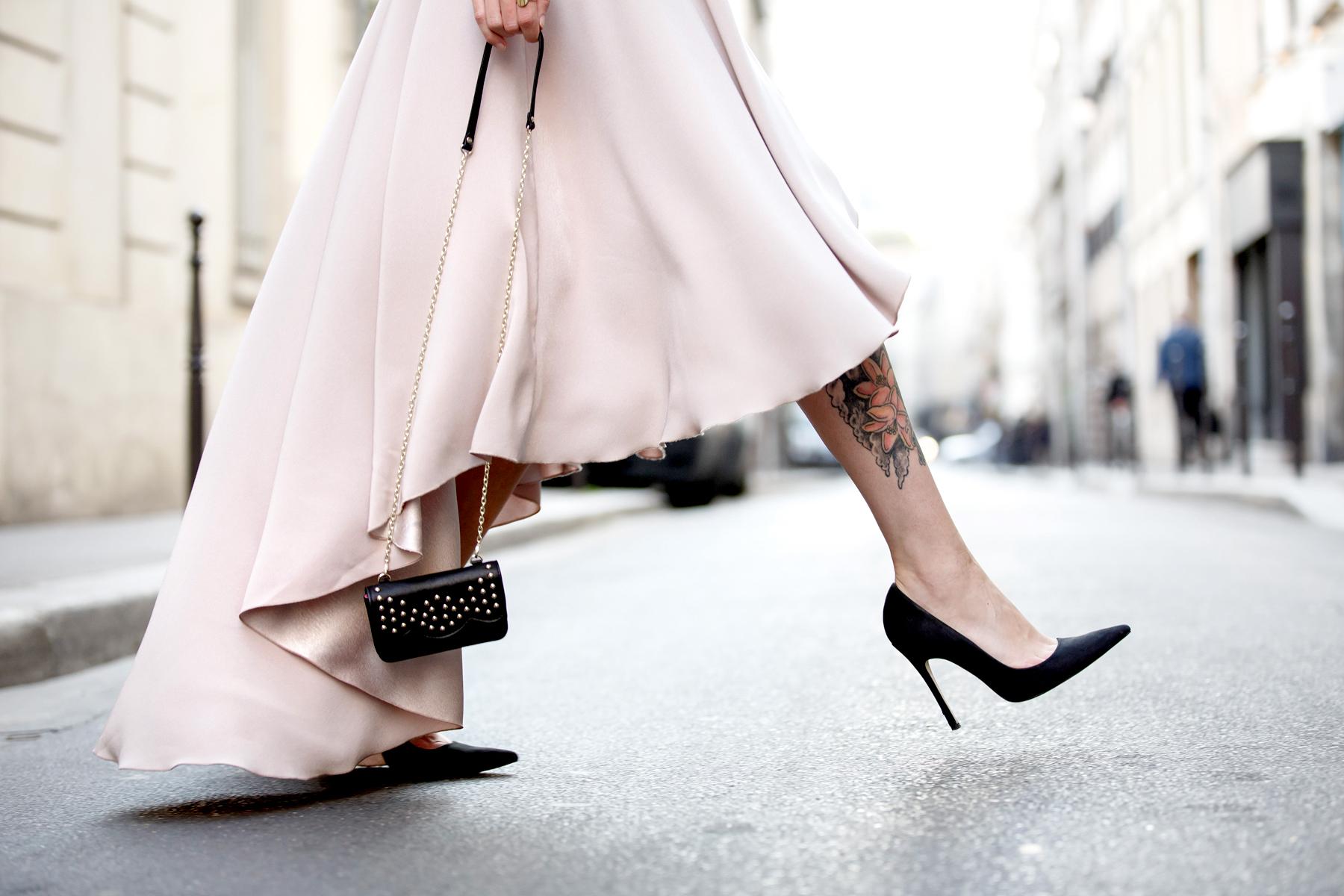 ewa herzog lace dress pastel rose paris le marais pfw fashion week ss16 ricarda schernus cats & dogs blog 4