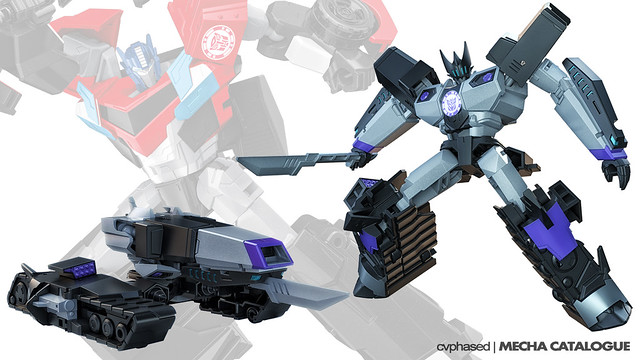"""Clash of the Transformers"" Warrior Class MEGATRONUS"