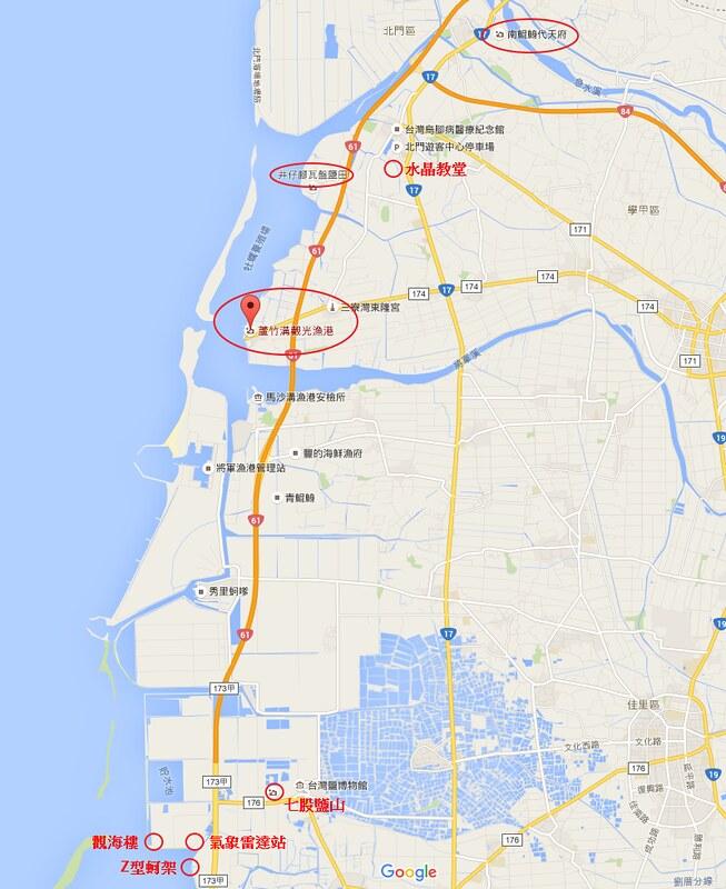 台南海岸地圖