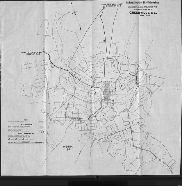 Greenville Map 1948