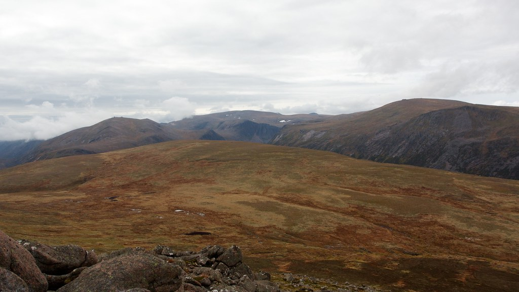 Central Cairngorms from Bynack More