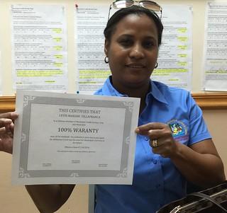 Leydi Mariam Villafranca Municipal Credit Service