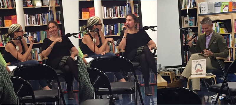 Jennifer Hayden & I in conversation with Gil Roth
