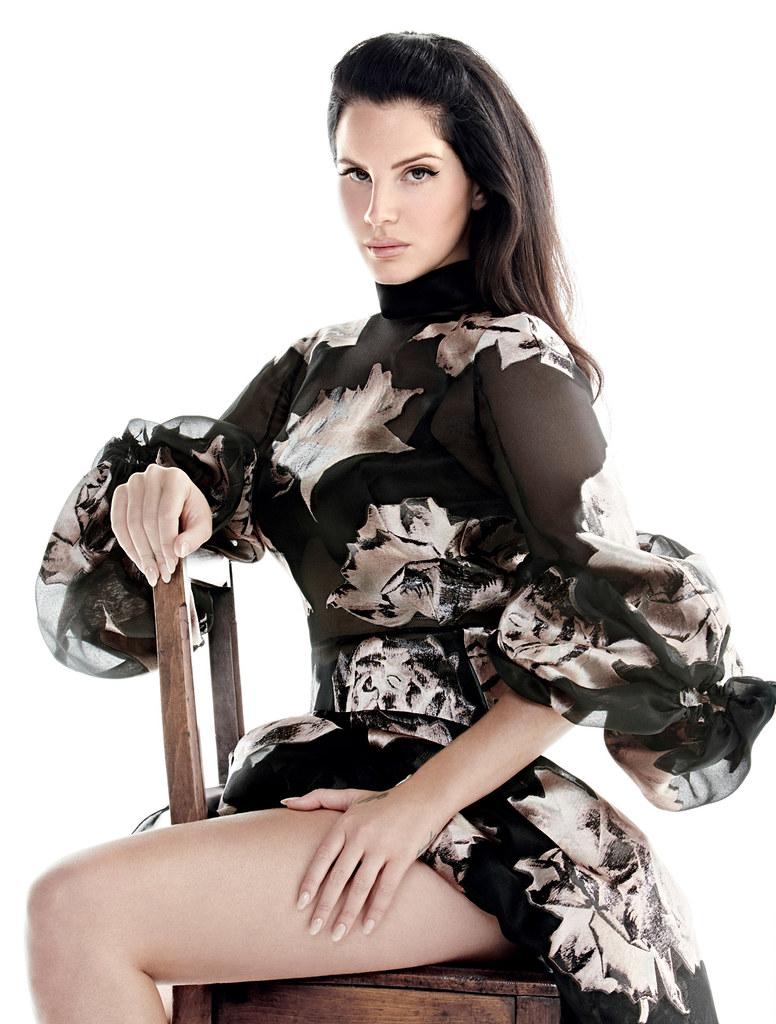 Лана Дель Рей — Фотосессия для «Vogue» TR 2015 – 5