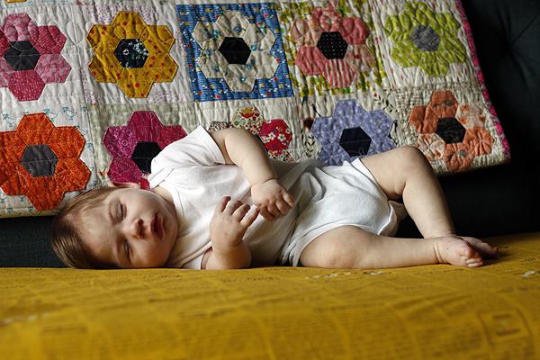 Eleni, 8 months
