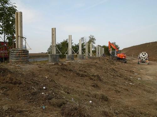2008 - Stavba protihlukových opatření