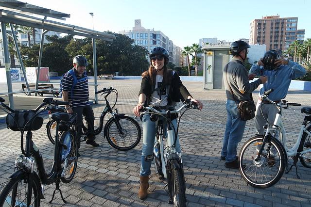 Bicicleta eléctrica en Las Palmas