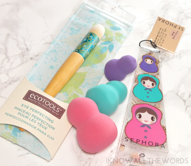 TT&OS EcoTools Eye Perfecting Brush Sephora Collection Babushka Doll Trio Airbrush Sponge Set