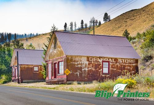 building pine town exterior unitedstates ghost idaho ghosttown