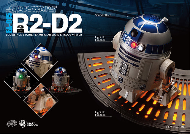 野獸國 – Egg Attack EA-015《星際大戰》R2-D2 雕像
