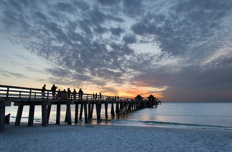 Naples Pier in Florida