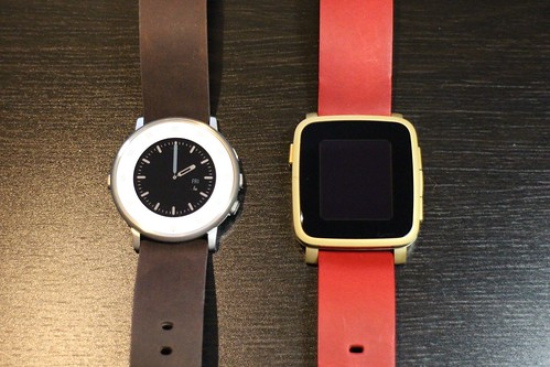 Pebble Time Round and Pebble Time Steel