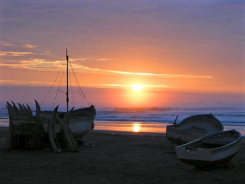 ocean travel seascape beach peru southamerica landscape sundown pacific playa wanderlust chiclayo lambayeque pimentel