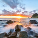 Winter Sunset at Ihama Rocky Beach by -TommyTsutsui- [nextBlessing]