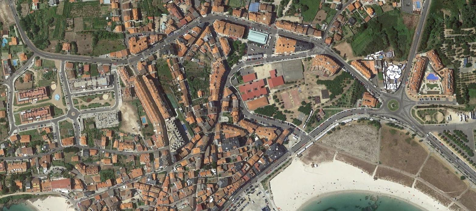portonovo, pontevedra, lleno de madrileños, después, urbanismo, planeamiento, urbano, desastre, urbanístico, construcción, rotondas, carretera