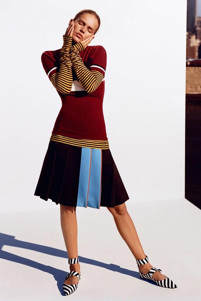 Анна Эверс — Фотосессия для «Vogue» UK 2015 – 3