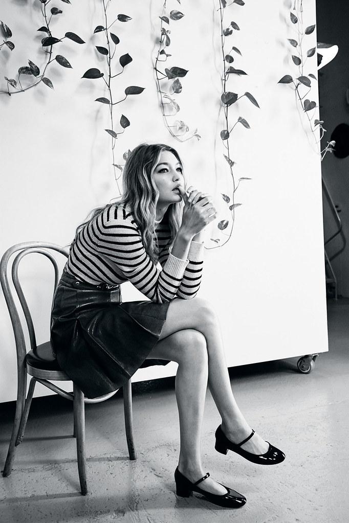 Джиджи Хадид — Фотосессия для «Vogue» UK 2015 – 5