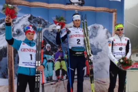 Junior Michal Novák vyhrál v Hochfilzenu
