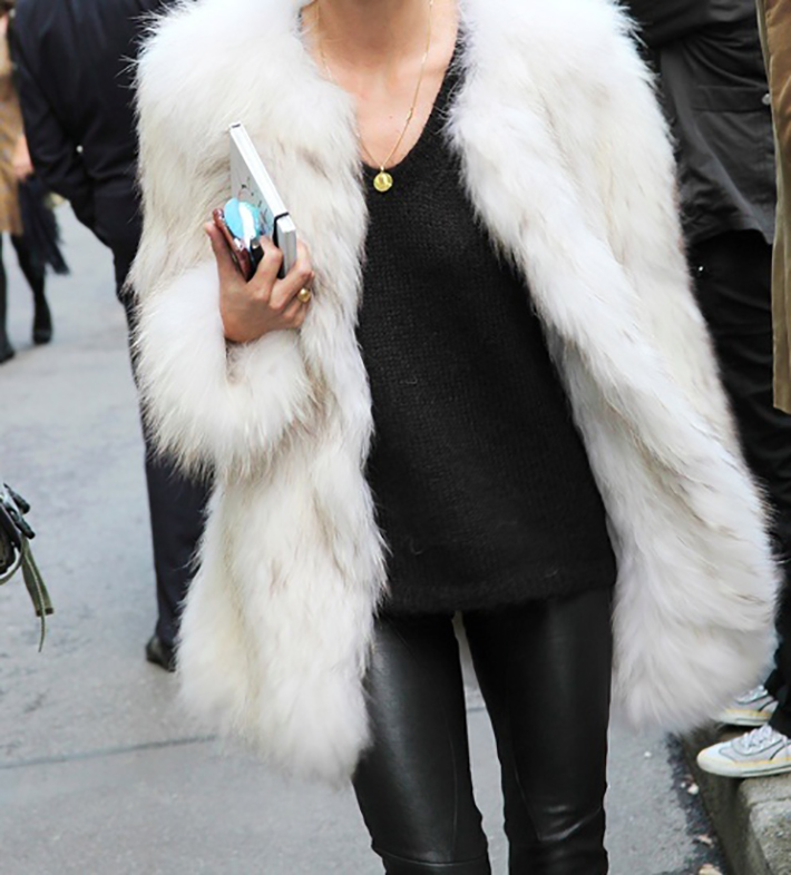 Faux Fur Coats Outfits style inspiration streetstyle12