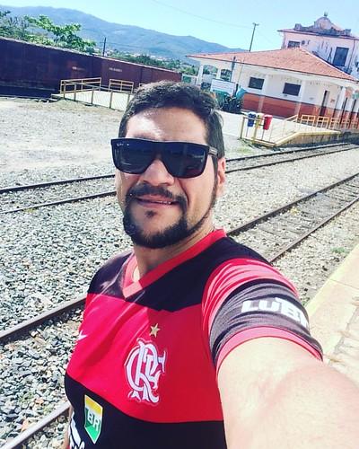 Estação ferroviária de Sr do Bonfim. 👾Saudade do tempo de criança...