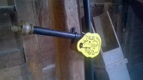 Speaking tube Houghton Mill