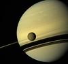 Saturn and Titan - May 6 2012