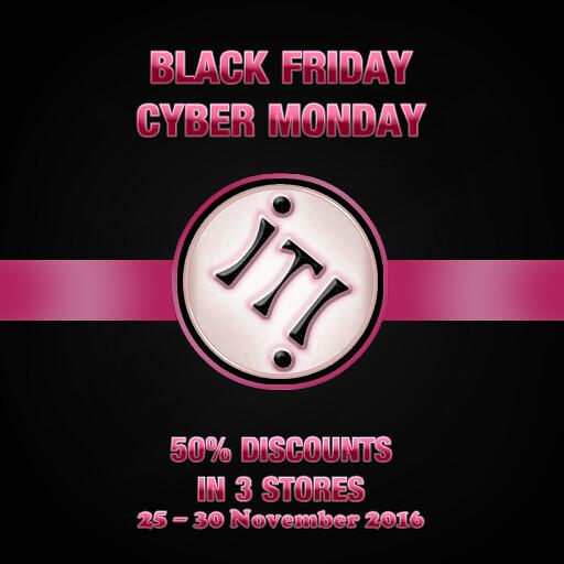 Black Friday Sign Image - SecondLifeHub.com
