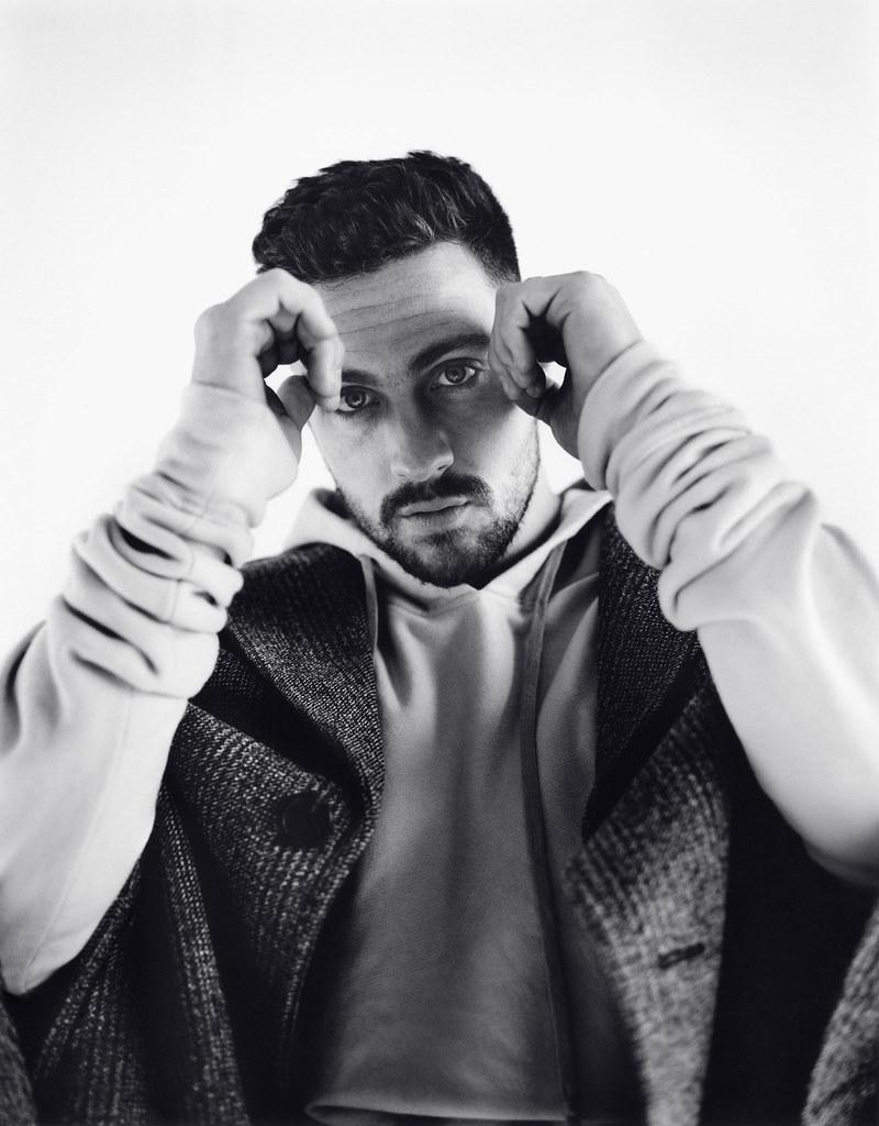 Аарон Тейлор-Джонсон — Фотосессия для «L'Uomo Vogue» 2016 – 3