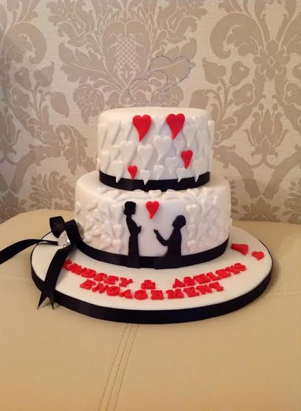 Cake by Sharon Waggott of Truly Scrumptious